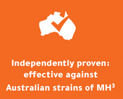 For Australian Strains of MH